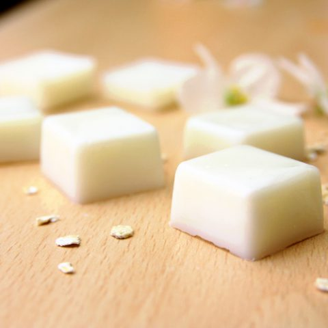 Vochtinbrengende kubussen in plaats van gewone balsem? Doe het zelf